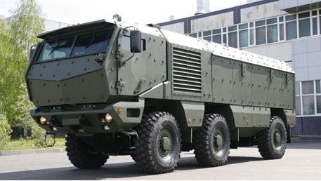 Сверхзащищенный грузовик «Тайфун»